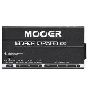 Mooer MACROPOWER Macro Power, 8 Ports Isolated Power Supply