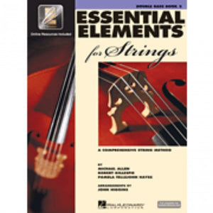 Hal Leonard HL00868060 Essential Elements Strings Book 2 with EEi - Bass
