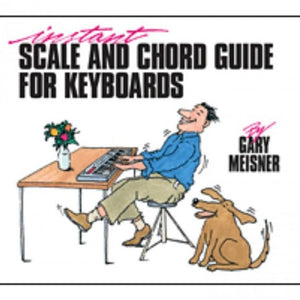 Hal Leonard HL00290166 Instant Scale and Chord guide for Keyboards - Book
