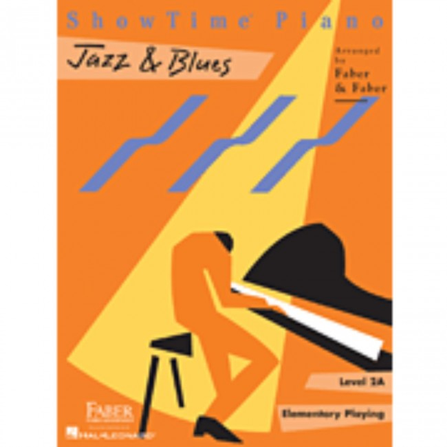 Hal Leonard HL00420154 ShowTime Piano - Level 2A - Jazz n Blues