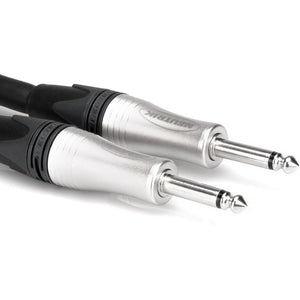 Hosa SKJ-225 Edge Speaker Cable Neutrik 1/4 in TS to Same 25 ft