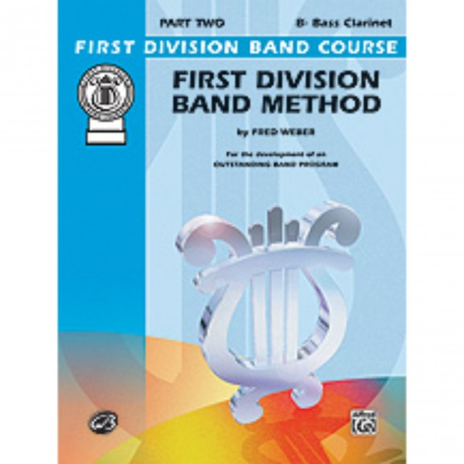 Alfred FDL00098A First Division Method Book 2 - Bass Clarinet
