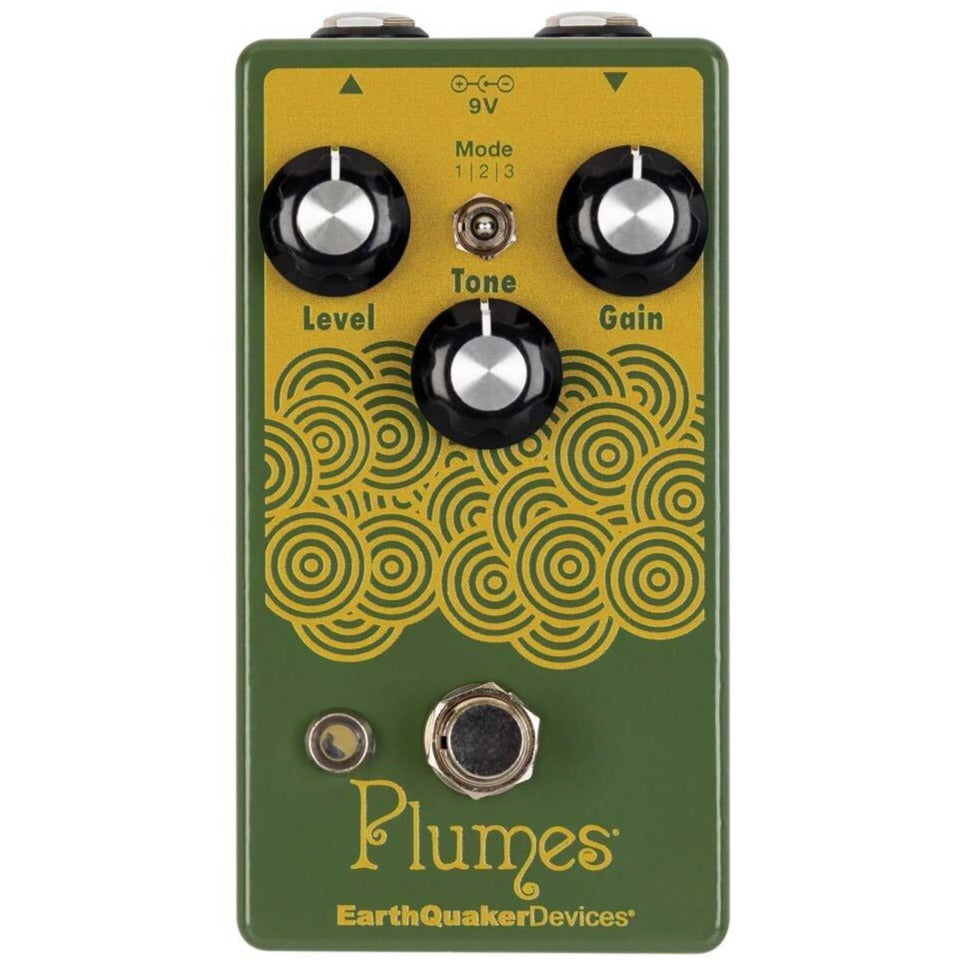 Earthquaker PLUMES Overdrive Effects Pedal