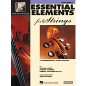 Hal Leonard HL00868059 Essential Elements Strings Book 2 with EEi - Cello