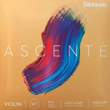 Load image into Gallery viewer, D'addario A310-4/4M Ascente Violin Set 4/4Med