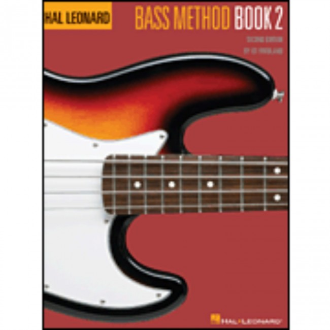 Hal Leonard HL00695069 Bass Method Book 2