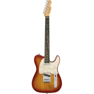 Fender 011-4212-731 American Elite Tele MN Electric Guitar, Aged Cherry