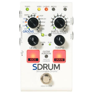 Digitech SDRUM Automatic Drummer Pedal