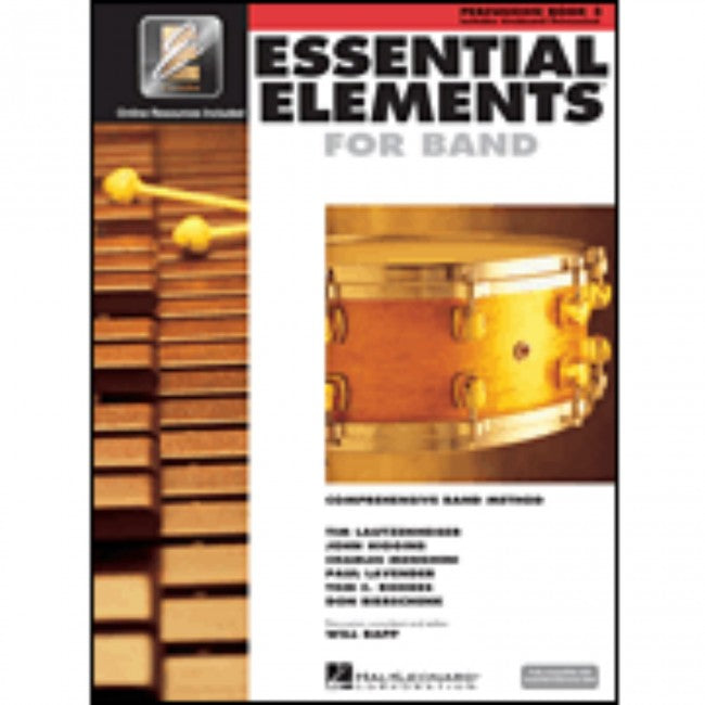 Hal Leonard HL00862604 Essential Elements Book 2 with EEI - Percussion (Combined)
