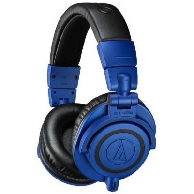 Audio-technica ATH-M50XBB Pro Closed-back Headphone, Full, Limited Edition Blue