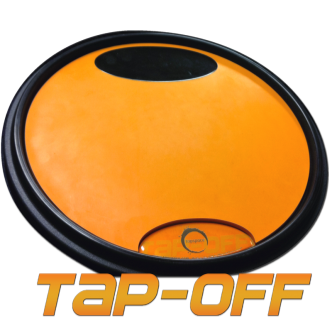 Tapspace TAP-OFF Dual-surface practice pad with high impact rim