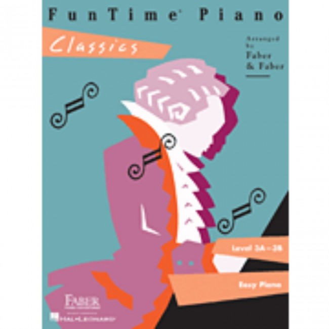 Hal Leonard HL00420131 FunTime Piano - Level 3A-3B - Classics