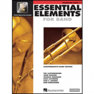 Hal Leonard HL00862599 Essential Elements Book 2 with EEI - Trombone