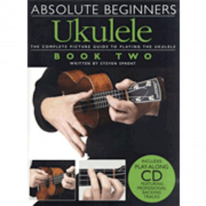 Hal Leonard HL14000936 Absolute Beginners - Ukulele Book 2 with  CD