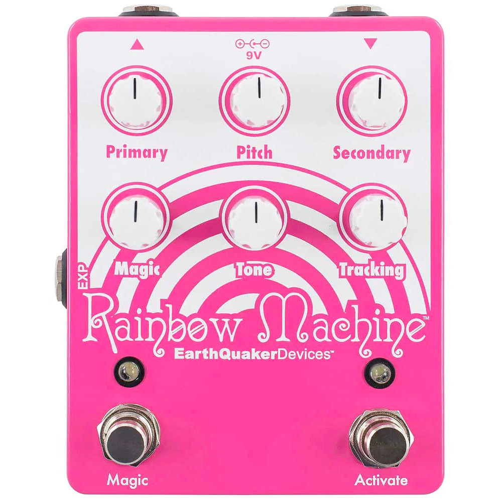 Earthquaker RAINBOWMACHINE Pitch Shifter Effects Pedal V2