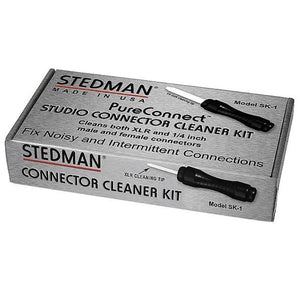 "Stedman SK-1 Studio 1/4"" and XLR Connector Cleaner Kit"