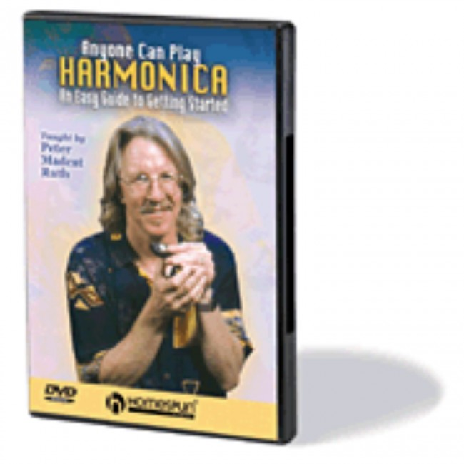 Hal Leonard HL00641852 Anyone Can Play Harmonica