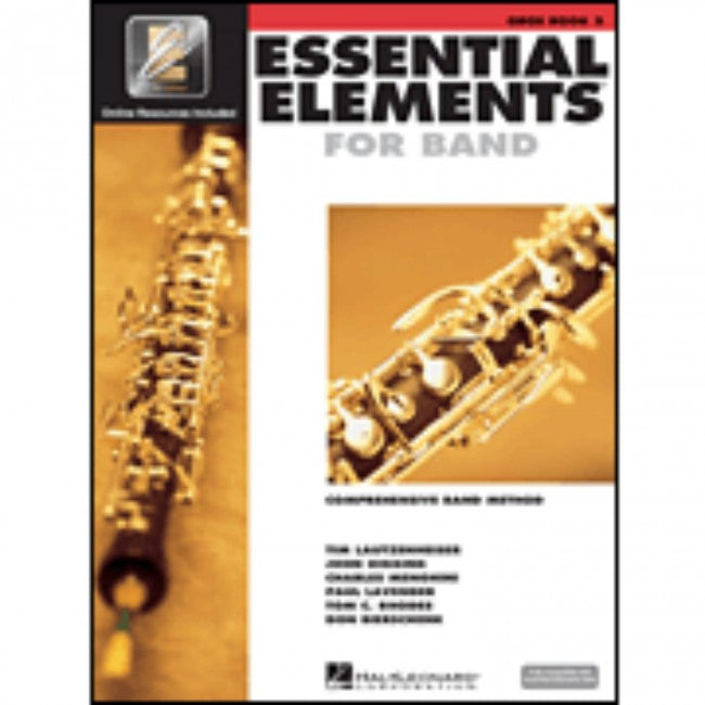 Hal Leonard HL00862589 Essential Elements Book 2 with EEI - Oboe