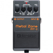 Load image into Gallery viewer, Boss MT-2 Metal Zone Pedal