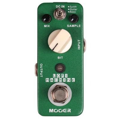 Mooer LOFIMACHINE LoFi Machine, 3 mode decimator effect pedal