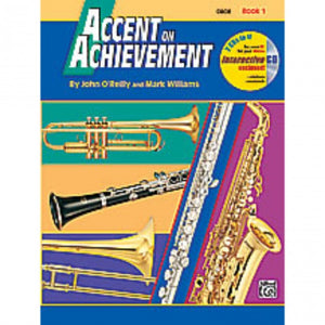Alfred A-17082 Accent on Achievement Book 1 - Oboe