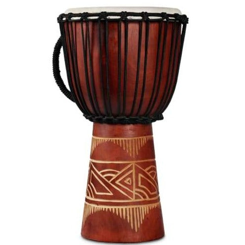 LP LP713MR LP World Beat Djembe, Art Medium Red