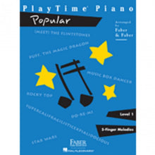 Load image into Gallery viewer, Hal Leonard HL00420110 PlayTime Piano - Level 1 - Popular