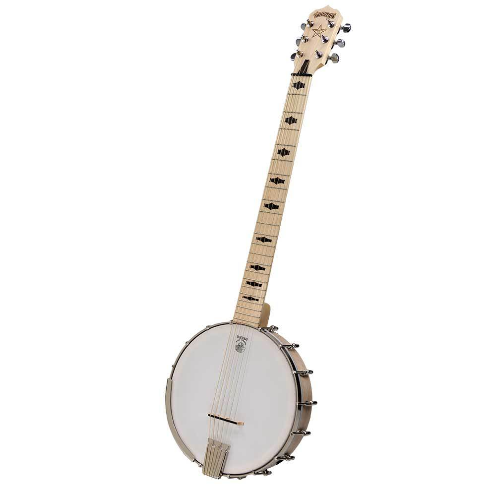 Deering Banjo G6S-PZ Goodtime Six with  Piezo