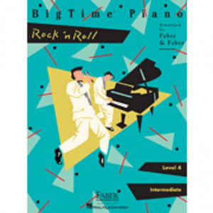 Hal Leonard HL00420138 BigTime Piano - Level 4 - Rock n Roll