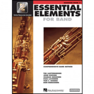Hal Leonard HL00862590 Essential Elements Book 2 with EEI - Bassoon