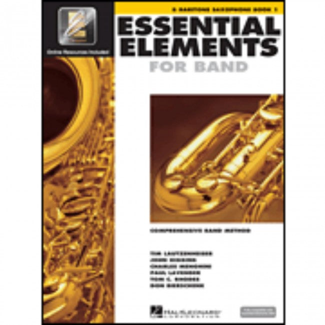 Hal Leonard HL00862574 Essential Elements Book1 with EEI - Bari Saxophone