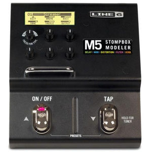 Line 6 M5 Single Effect Stompbox Modeler