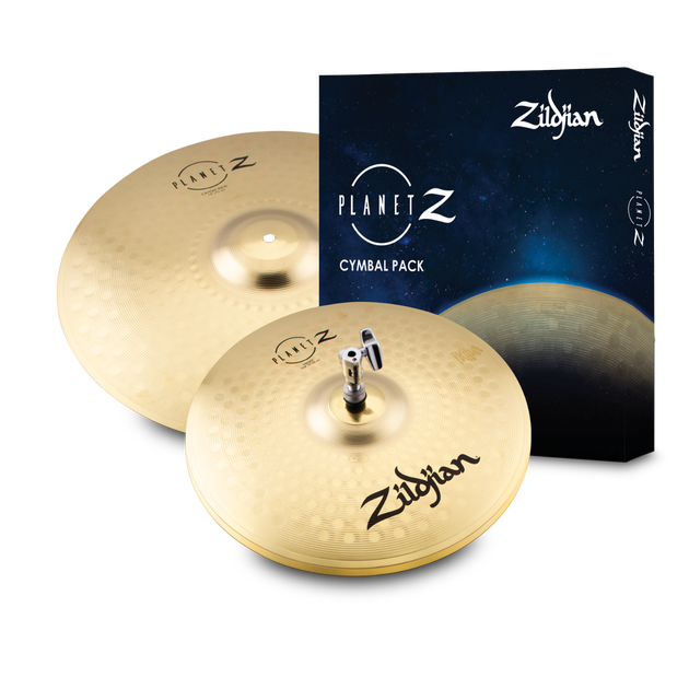 Zildjian ZP1418 Planet Z Fundamentals Cymbal Pack (14