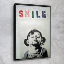 Load image into Gallery viewer, Smile Girl - Banksy
