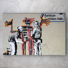 Load image into Gallery viewer, Install Basquiat - Banksy