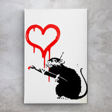 Load image into Gallery viewer, Love Rat - Banksy