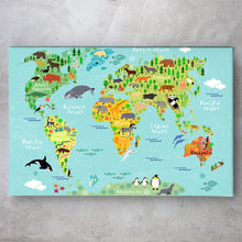 Load image into Gallery viewer, Animals Map