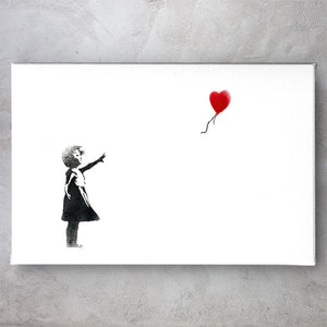 Red Balloon Girl - Banksy