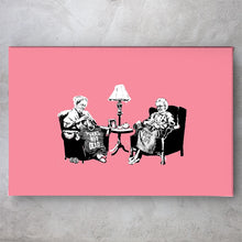 Load image into Gallery viewer, Punk Thug Grannies - Banksy