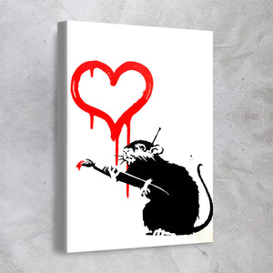 Love Rat - Banksy
