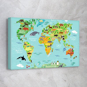 Animals Map
