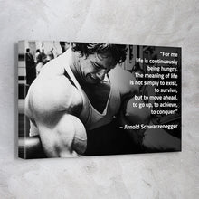 Load image into Gallery viewer, Arnold Schwarzenegger Bodybuilding Quote