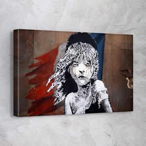 Les Miserables Paris - Banksy