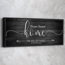 "Load image into Gallery viewer, Family Name ""Home Sweet Home"""