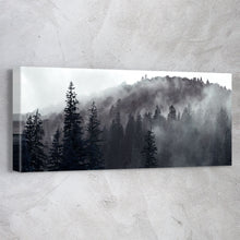 Load image into Gallery viewer, Foggy Mountain Black & White