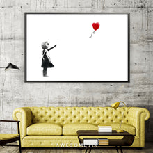Load image into Gallery viewer, Red Balloon Girl - Banksy