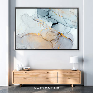 Classic Light Blue Abstract