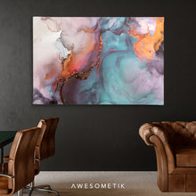 Load image into Gallery viewer, Fluid Ink Colorful Abstract