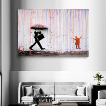 Load image into Gallery viewer, Singing in The Coloured Rain - Banksy