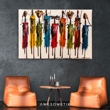 Load image into Gallery viewer, African wall art Masai